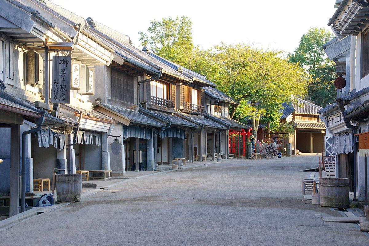 千葉県⽴房総のむら 商家の町並み