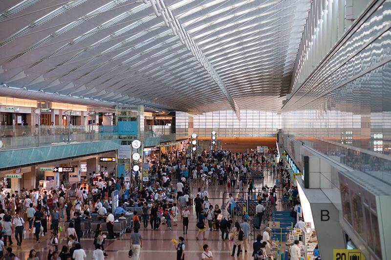 羽田空港 ロビー(イメージ)