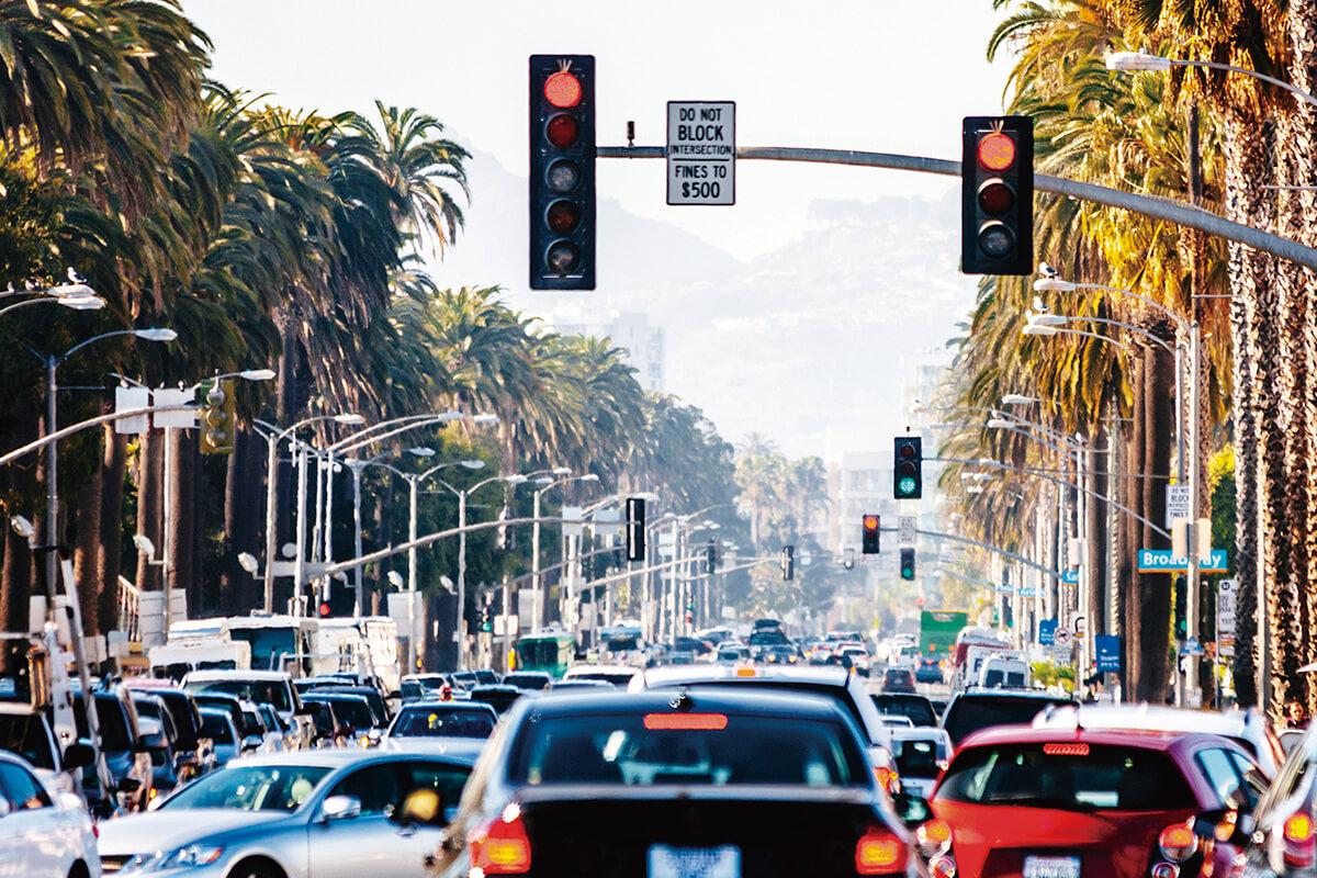 サンタモニカ 街並み