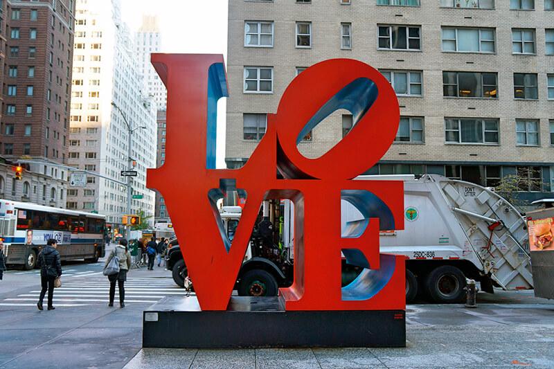 ニューヨークのLOVE