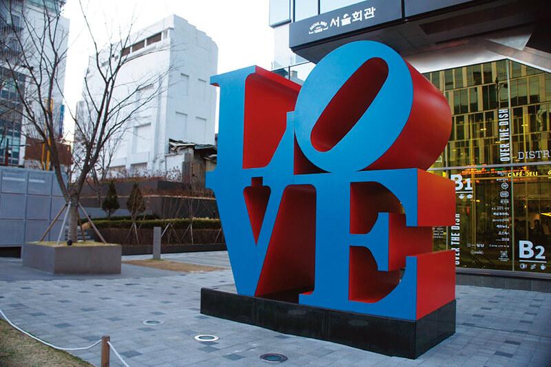 韓国のLOVE