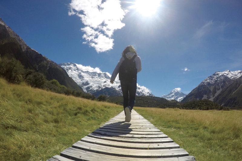 南半球は、いよいよベストシーズン!! 春のニュージーランドでハイキング・トレッキングを楽しもう!