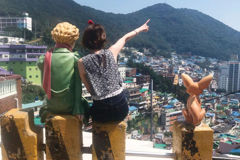 カラフルでおしゃれなアートがいっぱい!! 韓国・釜山の「甘川文化村」へ行ってみよう。