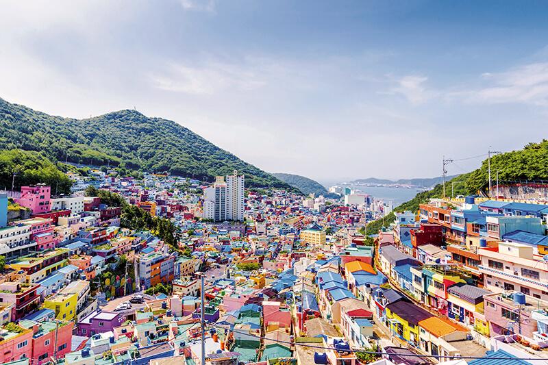 韓国・甘川文化村