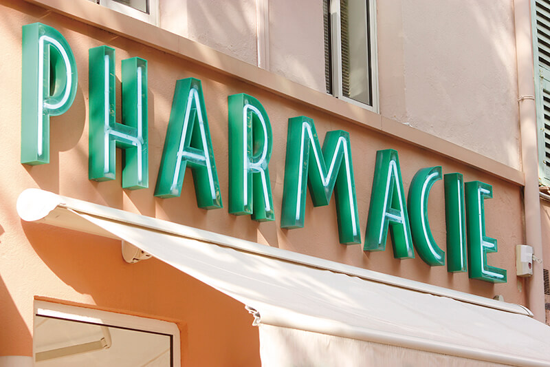フランスの薬局(イメージ)