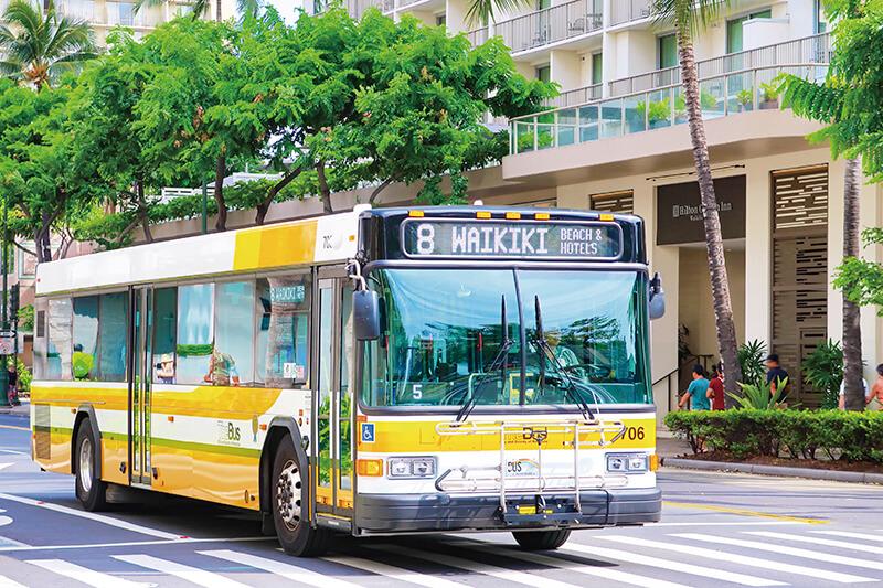 ハワイ the bus