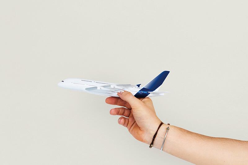 飛行機の模型(イメージ)