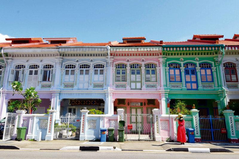 シンガポールのカトン地区でプラナカン文化に出逢う旅。パステルカラーの建物やグルメも楽しもう!!