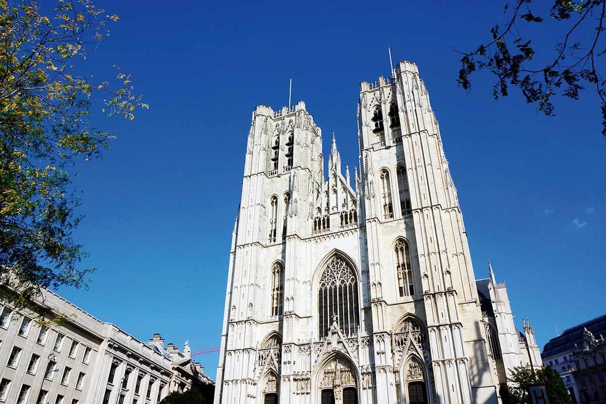 ベルギー ブリュッセル サン・ミッシェル大聖堂