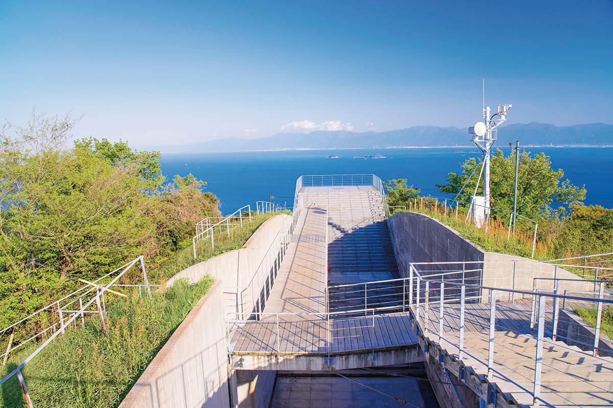 瀬戸内しまなみ海道 亀老山展望公園パノラマ展望台ブリッジ