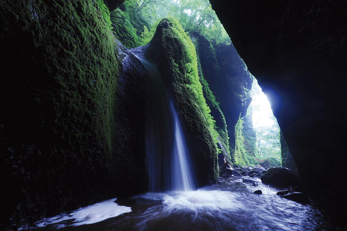 兵庫県新温泉町・シワガラの滝
