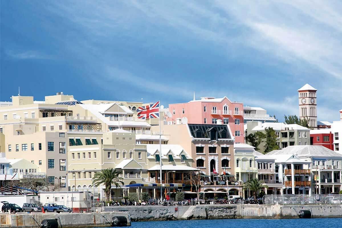 バミューダ諸島 首都ハミルトン