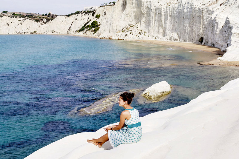 イタリア・シチリア島の穴場観光地。アグリジェントの「スカーラ・ディ・トゥルキ」に大感動!