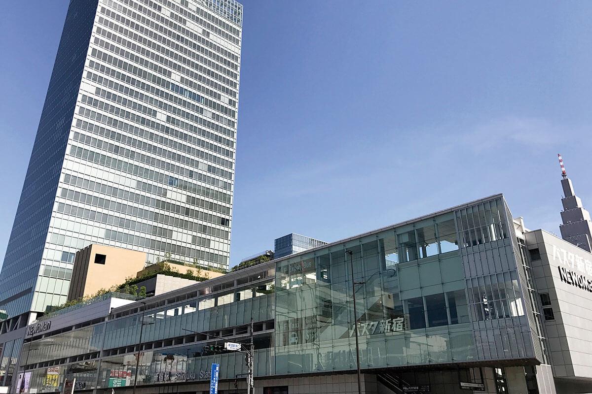 東京新宿・バスタ新宿