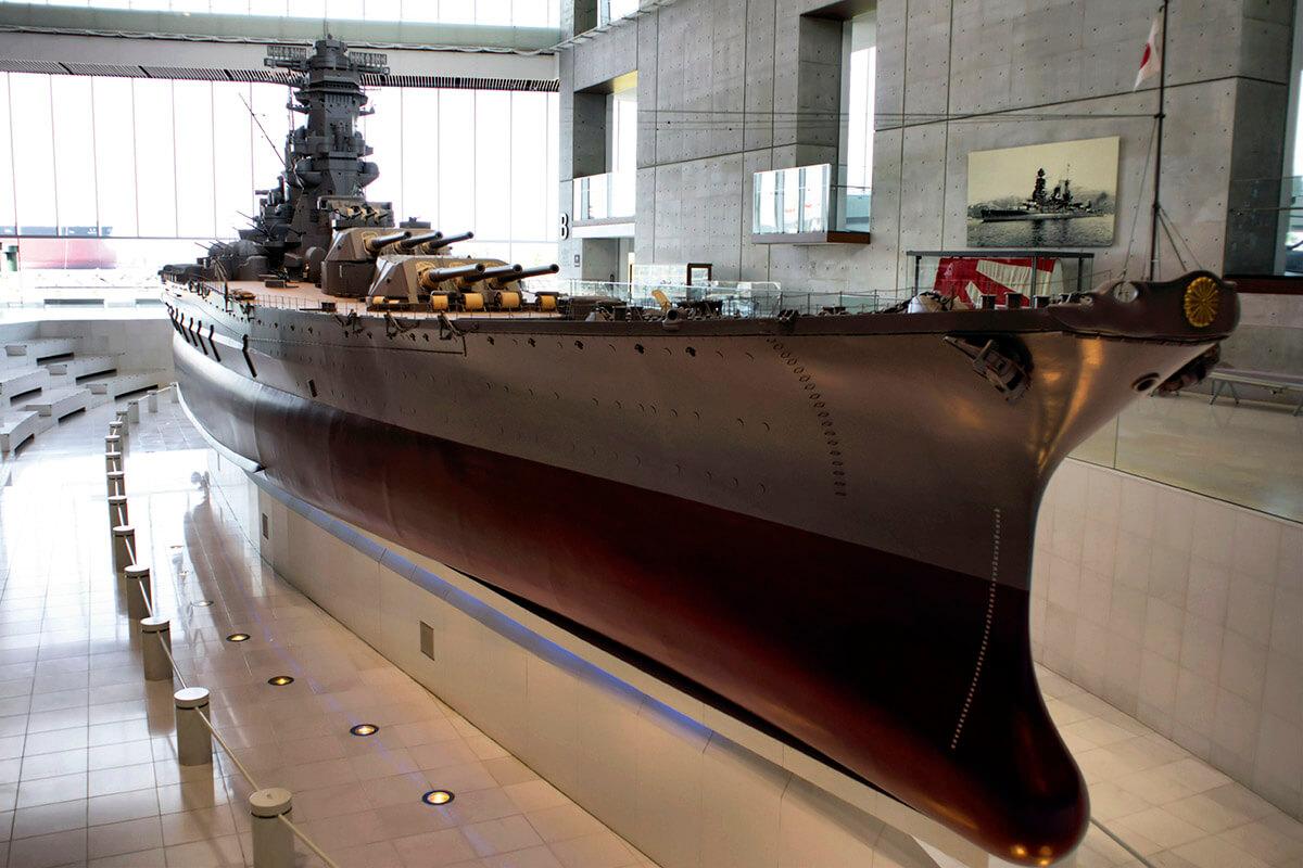 呉 大和ミュージアムの戦艦大和