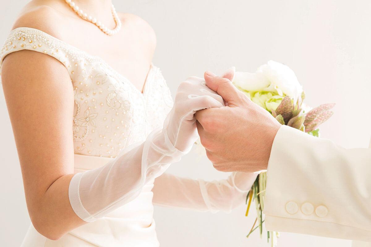 結婚式 花嫁(イメージ)