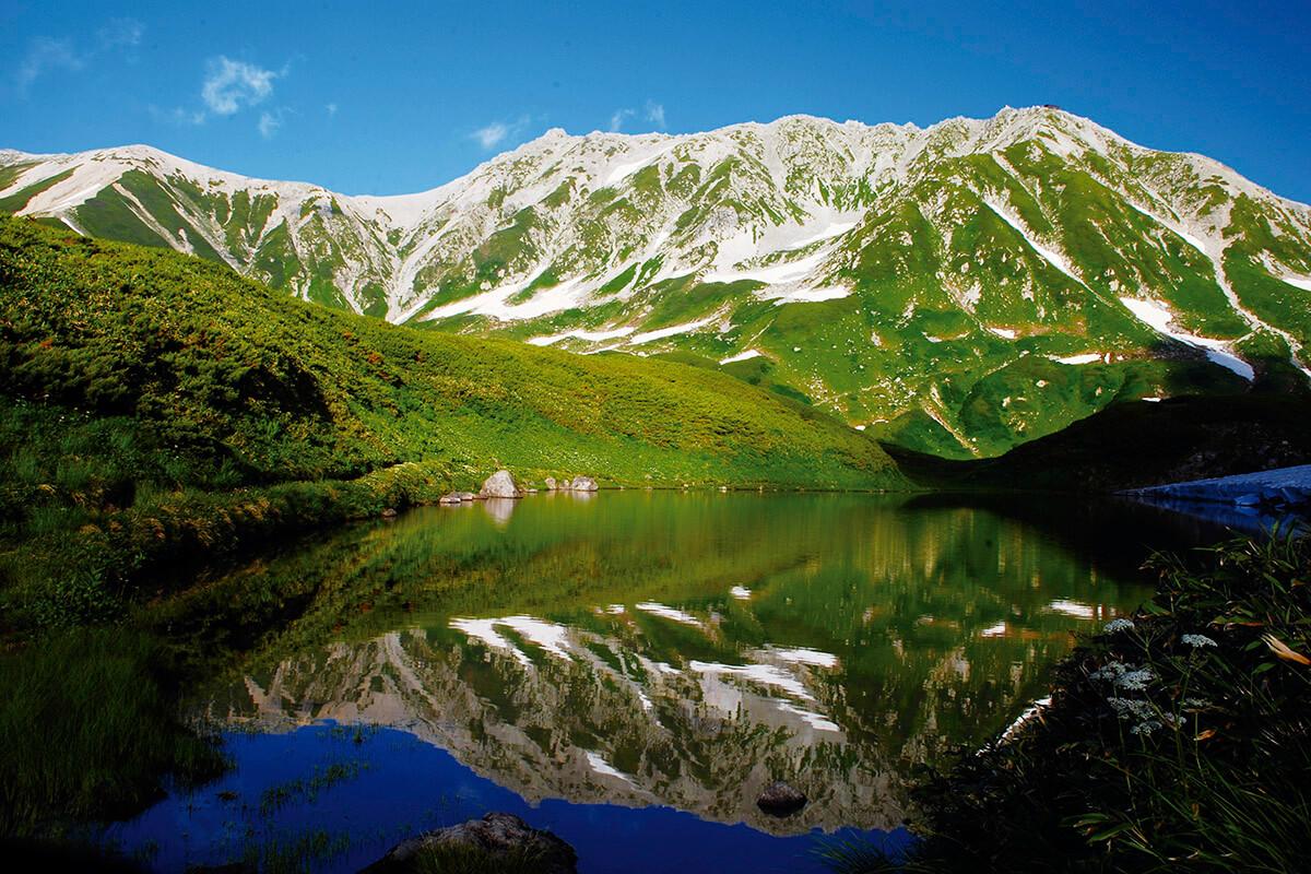 立山黒部アルペンルート 室堂・みどりが池