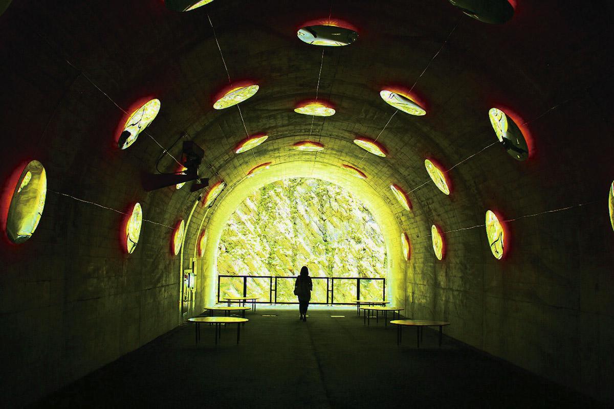清津峡トンネル 第三見晴所