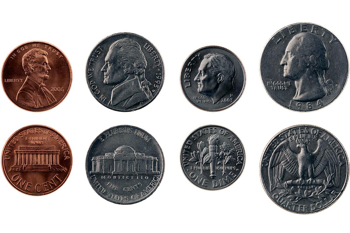 アメリカ 硬貨