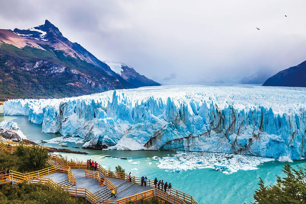ロス・グラシアレス国立公園 ペリト・モレノ氷河