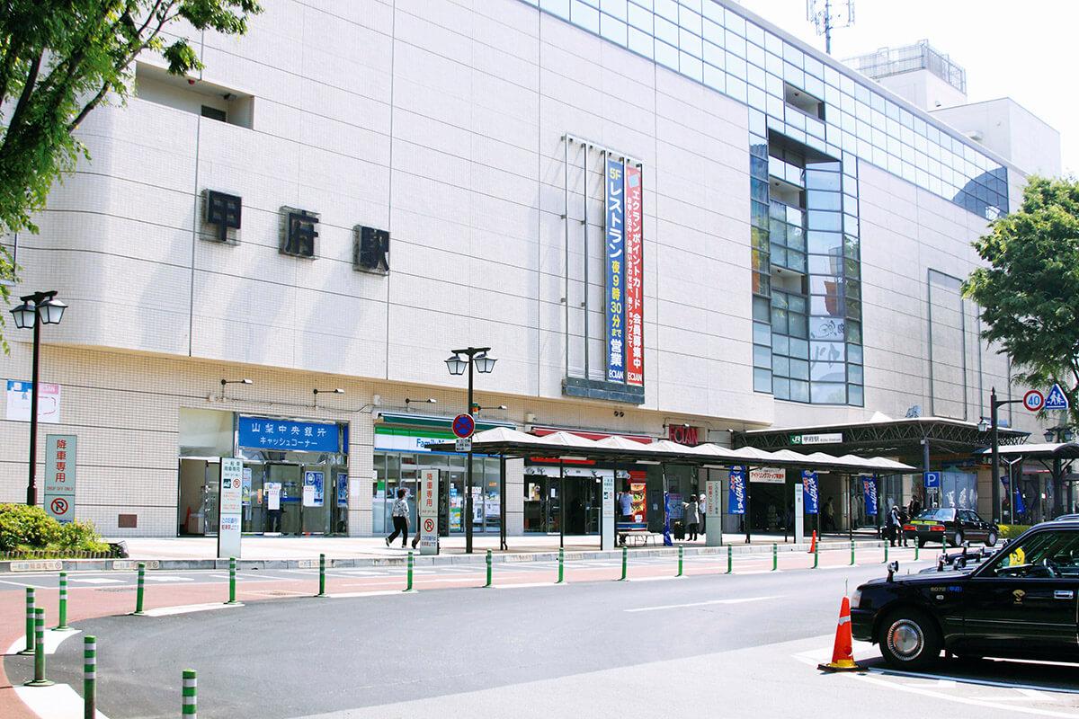 JR甲府駅・南口