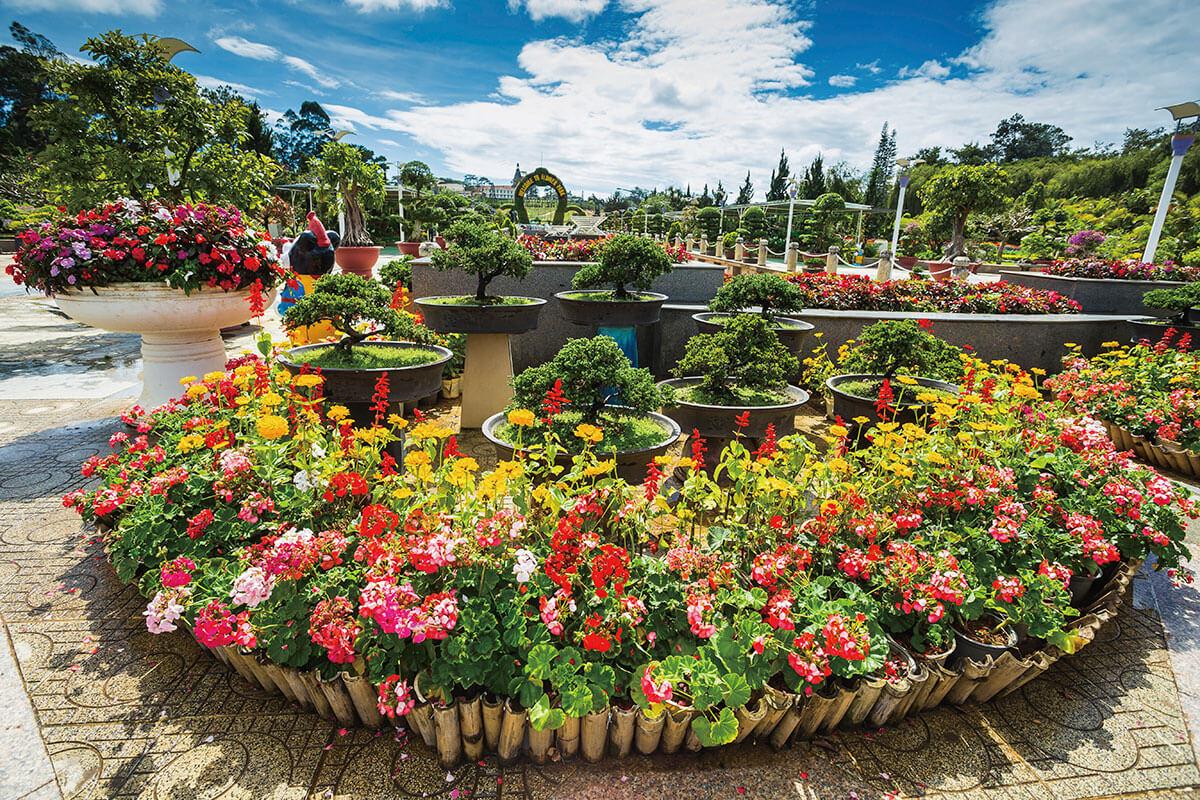 ダラット 庭園