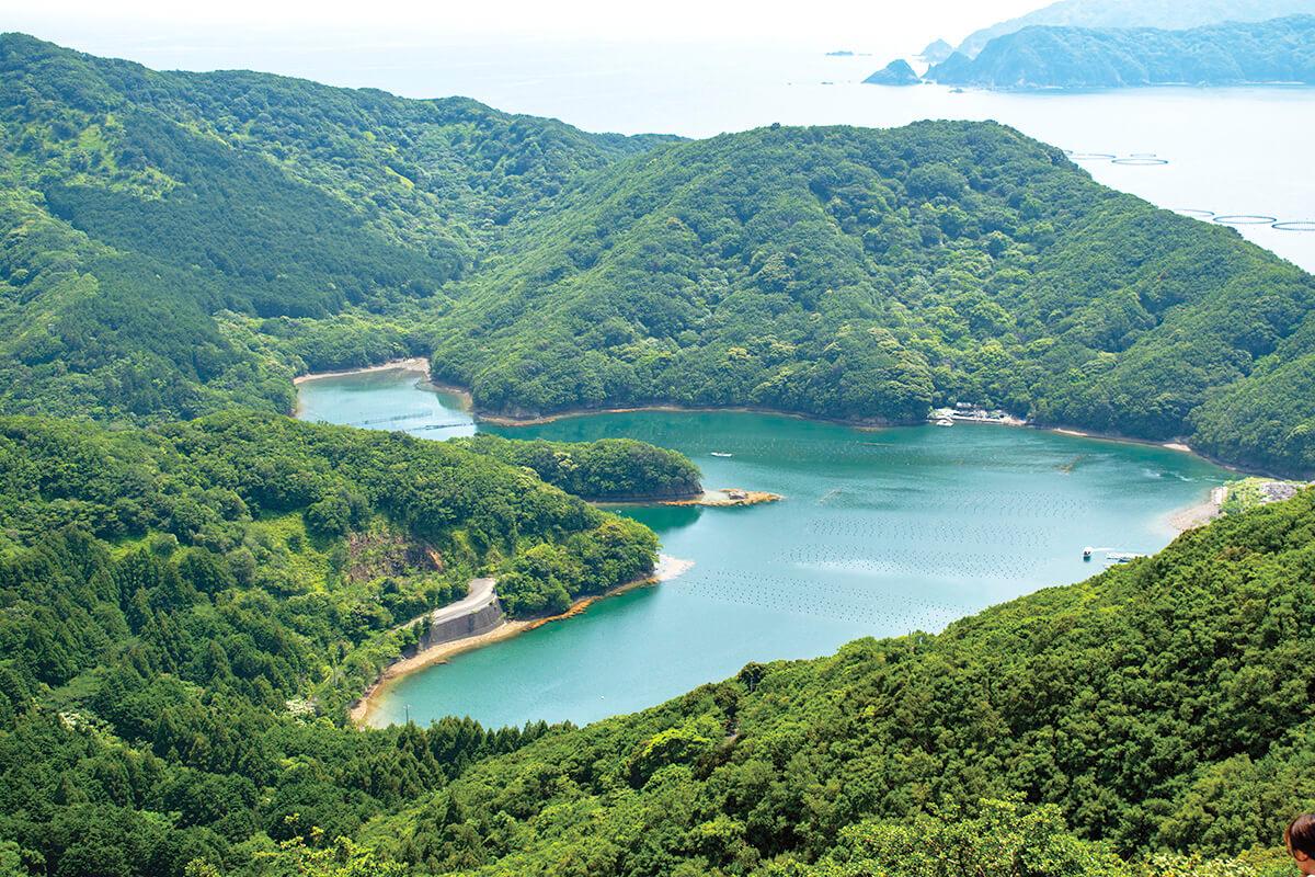 三重県 見江島展望台