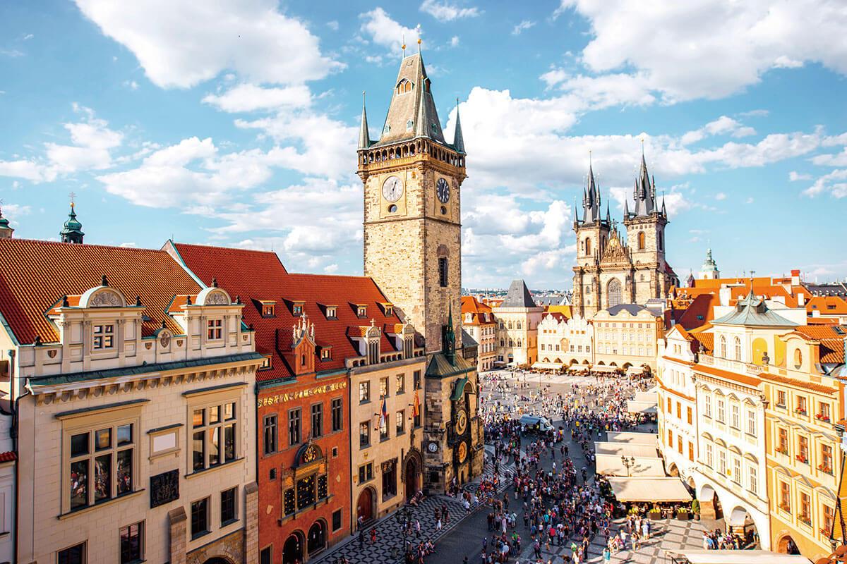 プラハ 旧市街広場 天文時計