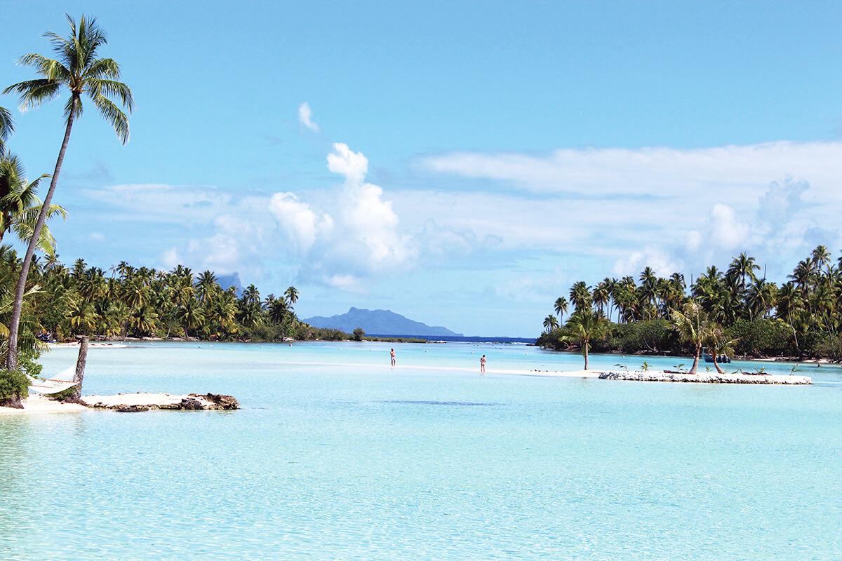 タハア島 モツ