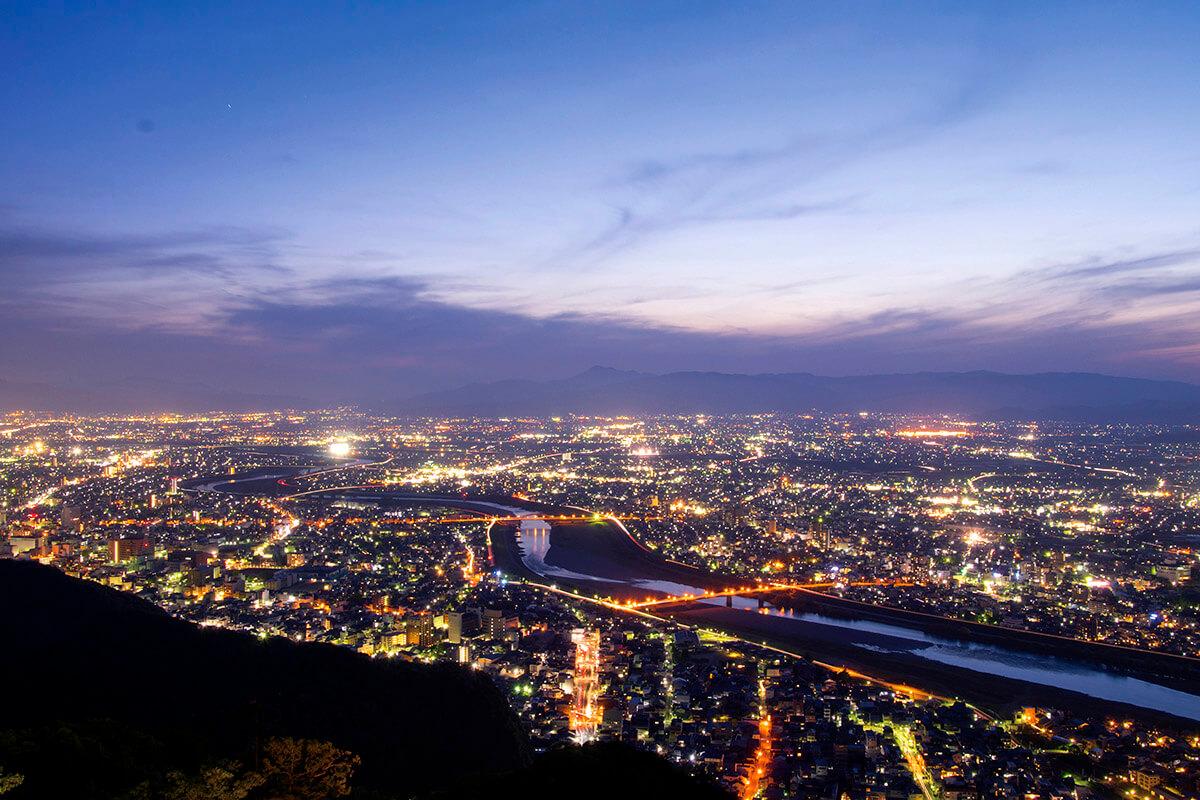 金華山 夜景
