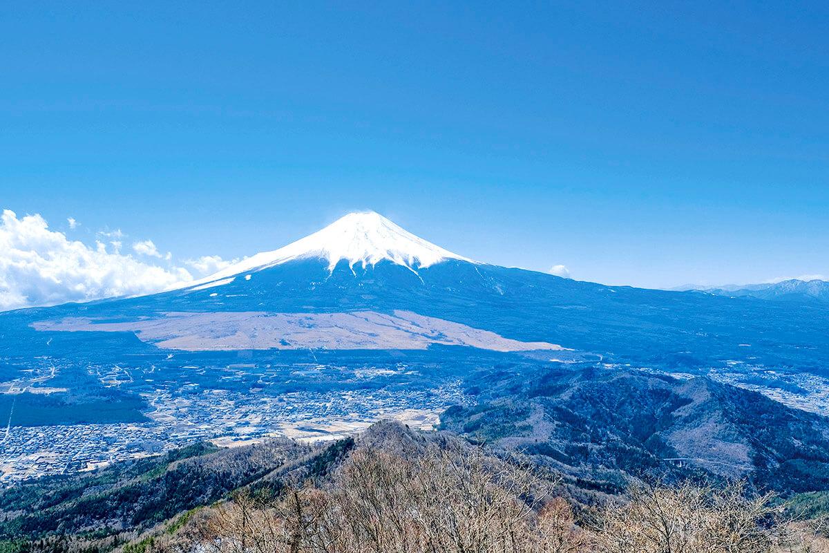 杓子山からの景色