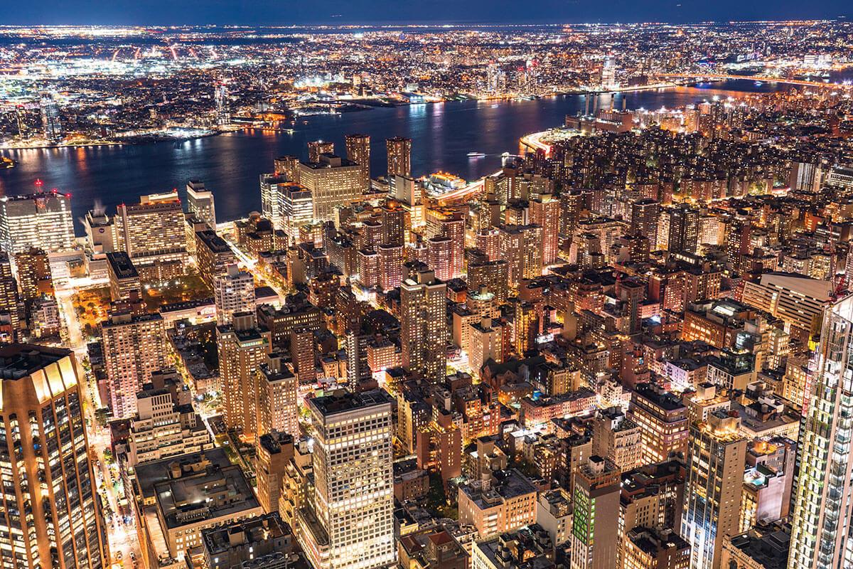 マンハッタンの街並み(イメージ)