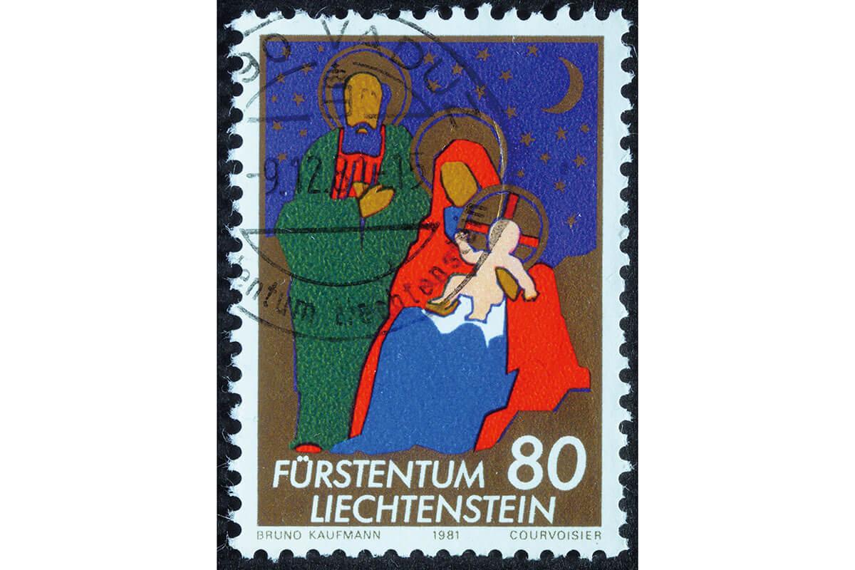 リヒテンシュタイン公国の切手