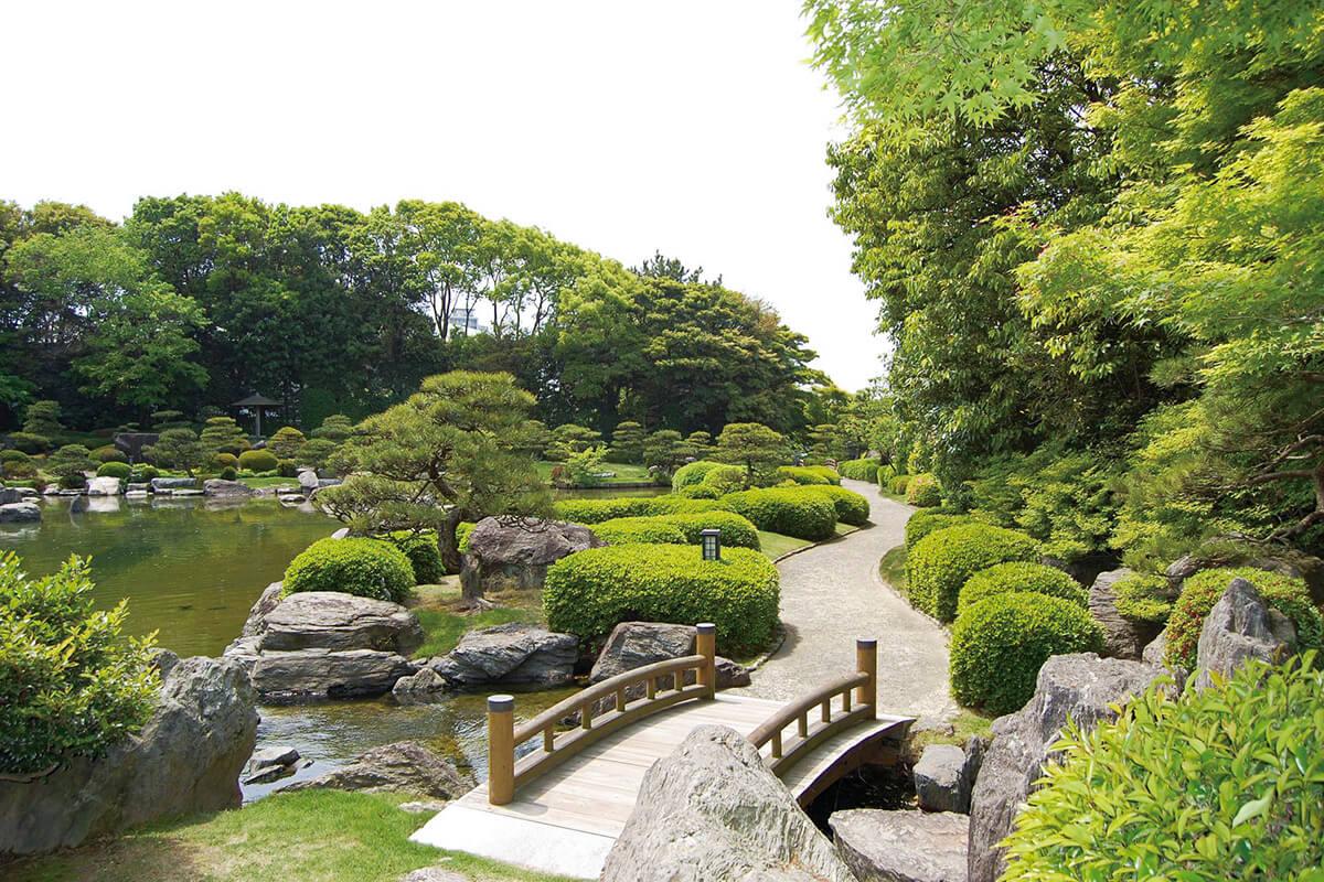 大濠公園 日本庭園