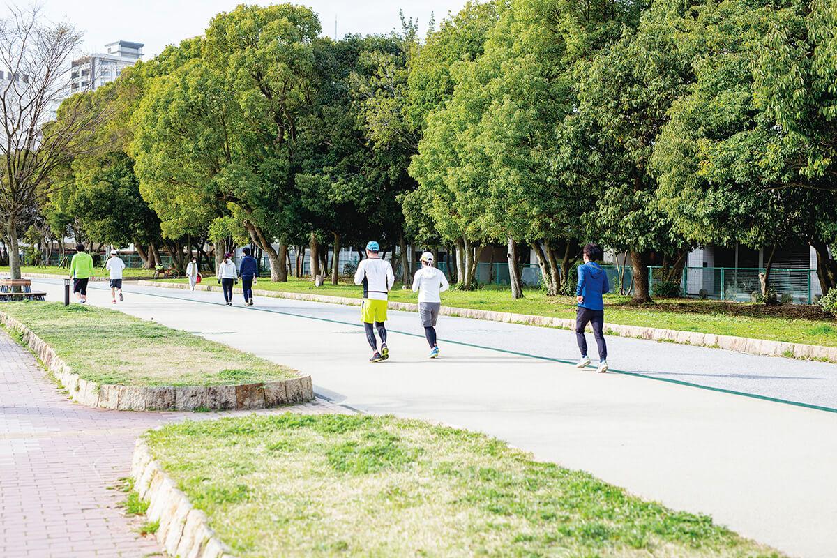 大濠公園 ジョギングコース