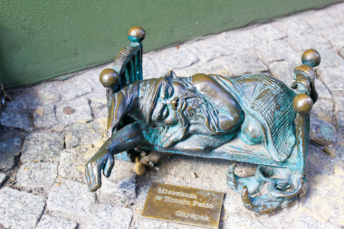 ブロツワフの小人像