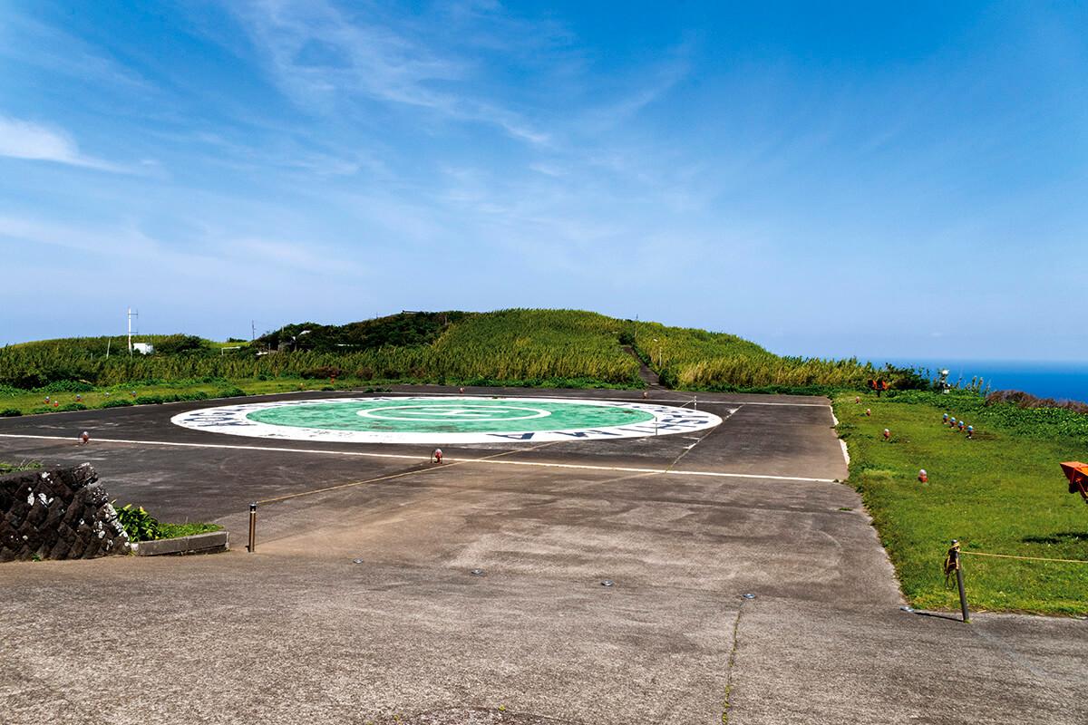 青ヶ島 ヘリポート