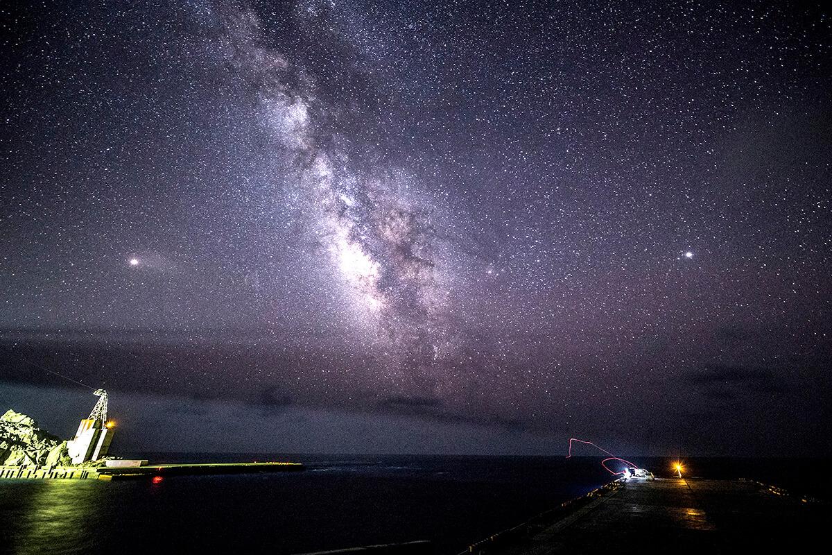 青ヶ島の星空