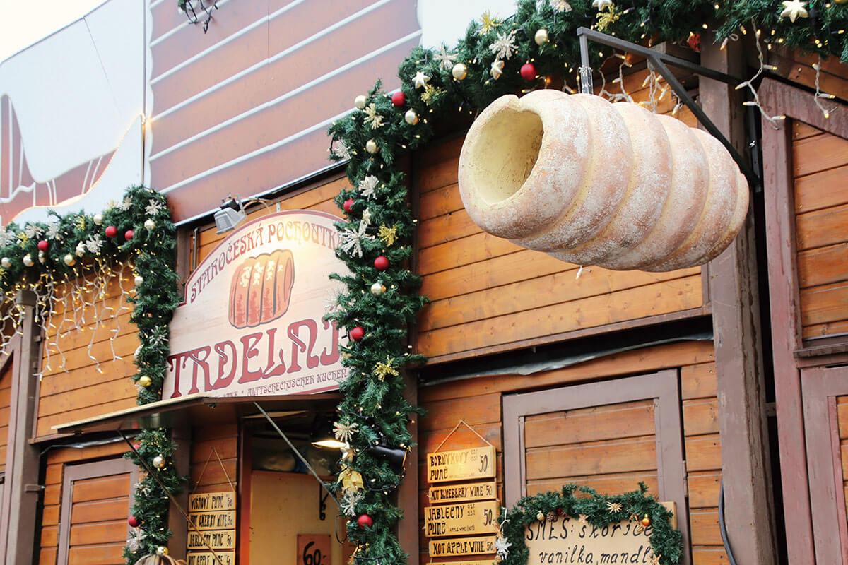 プラハ トゥルデルニーク お店