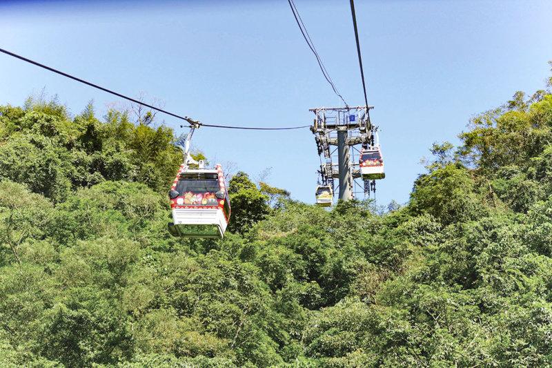 台湾ローカルの人気観光地「猫空」のロープウェイがアトラクションみたいで楽しい!