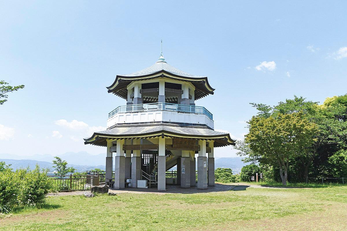 弘法山公園 展望台