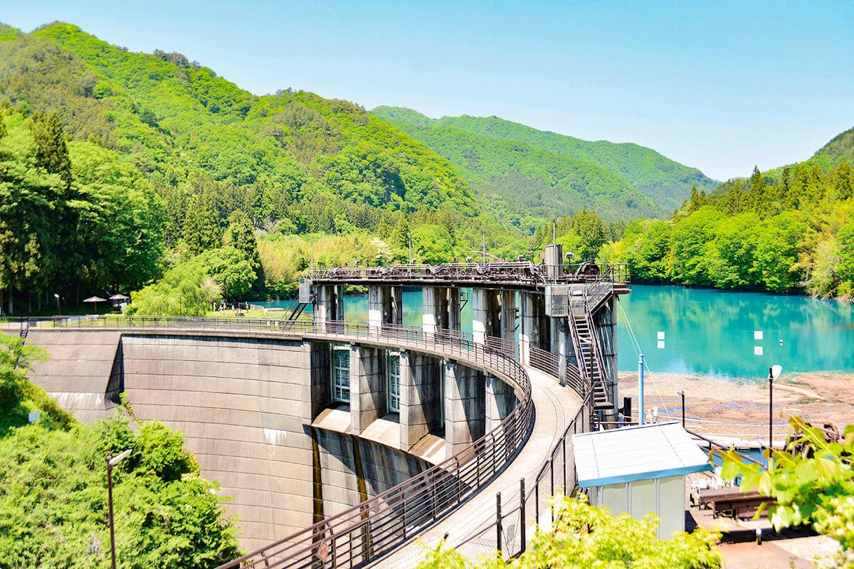 四万湖(中之条ダム)