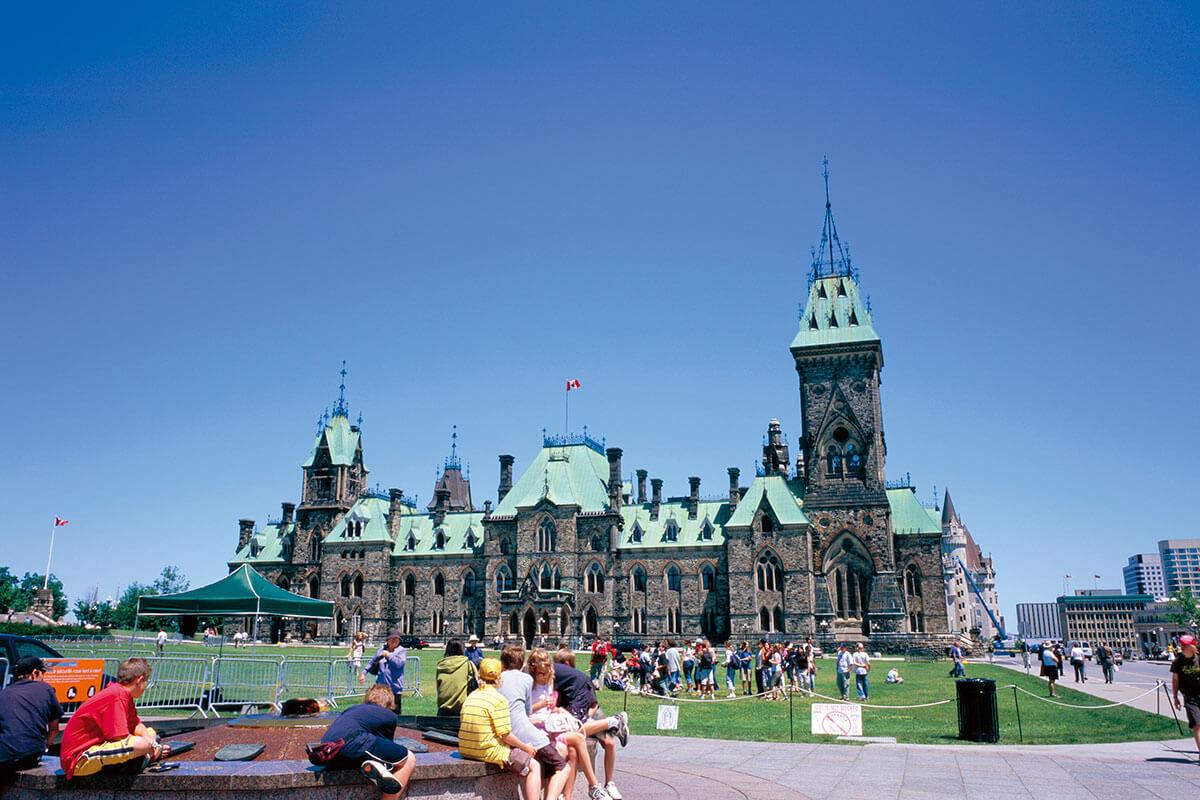 カナダ オタワ 国会議事堂