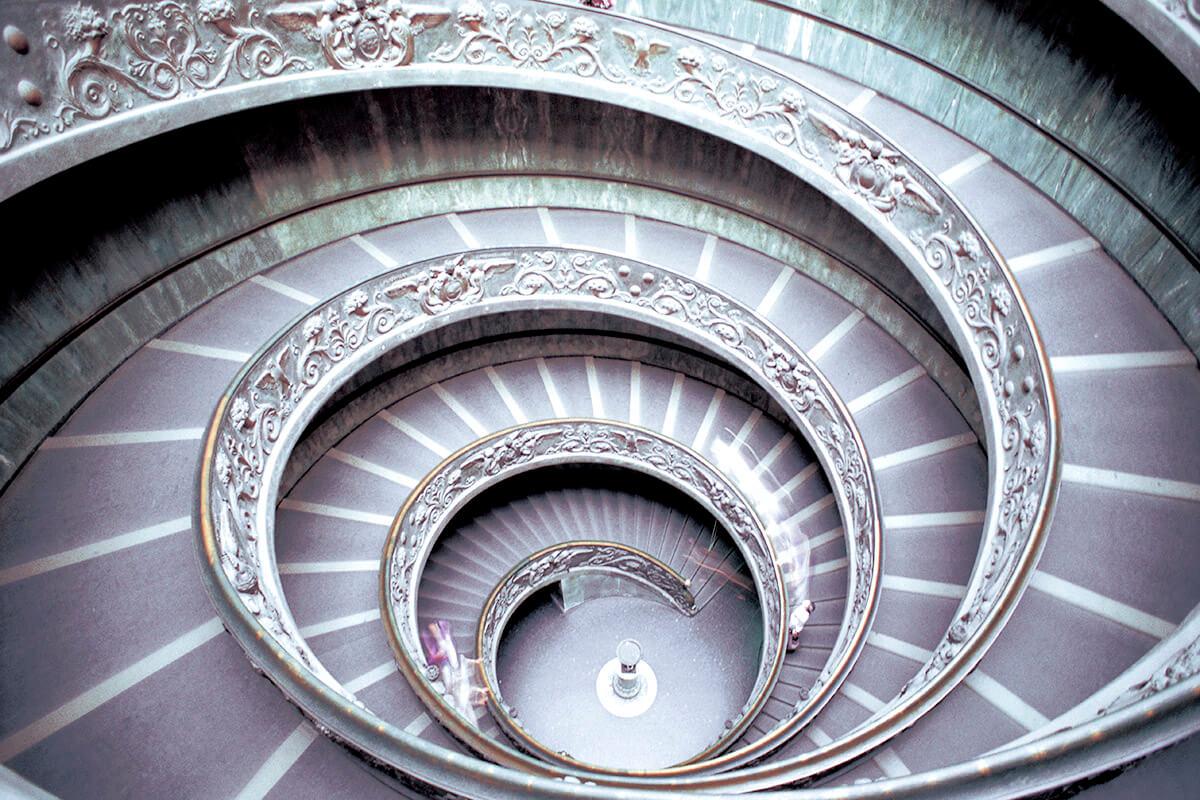 バチカン美術館 二重螺旋の階段