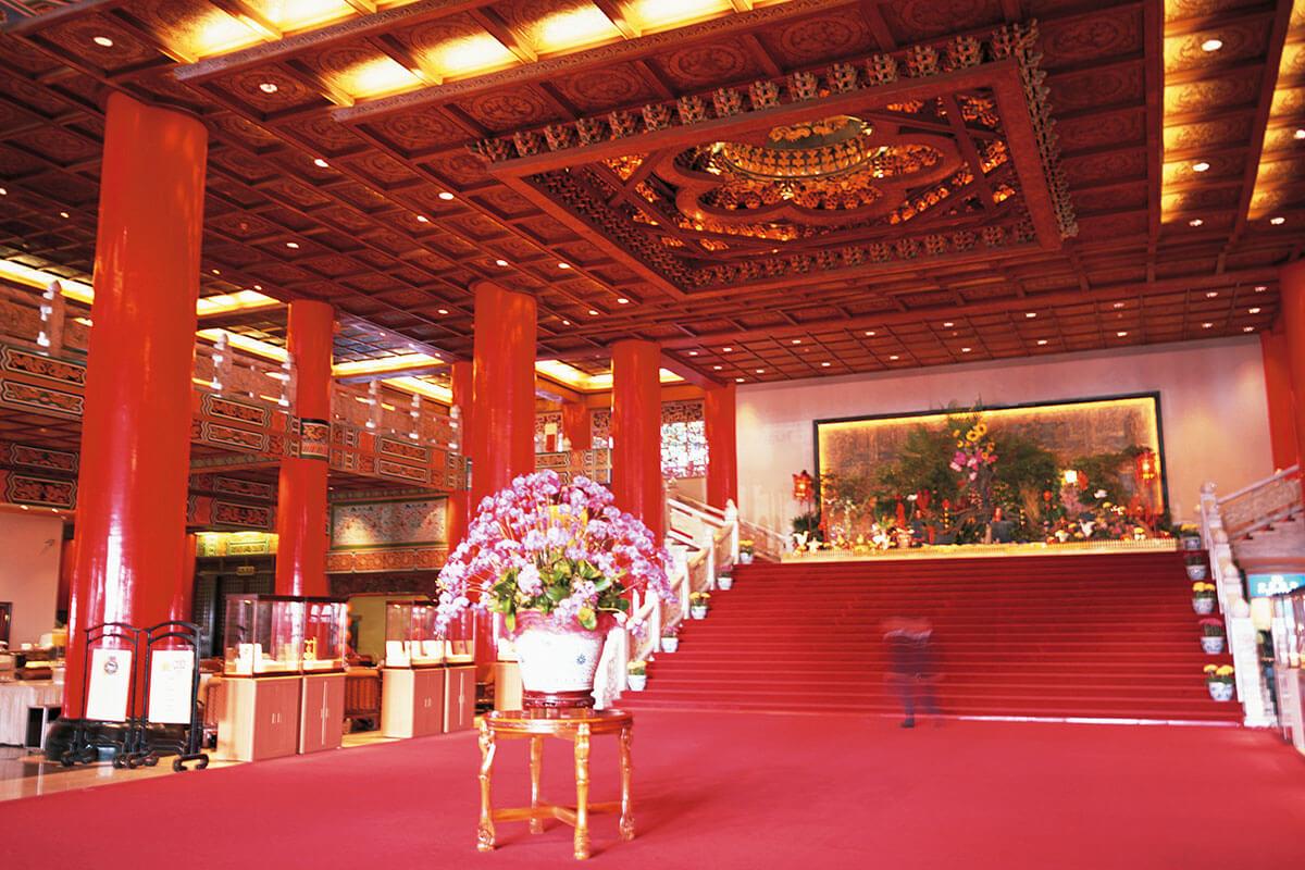 台北  圓山大飯店 ロビー