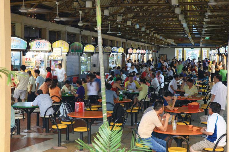 シンガポールの屋台・食堂街「ホーカーズ」で名物グルメを楽しもう!!