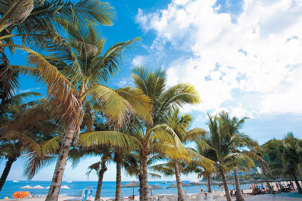 海南島 三亜ビーチ
