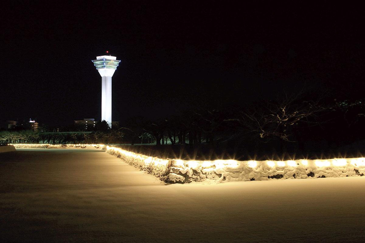 五稜郭タワー 夜