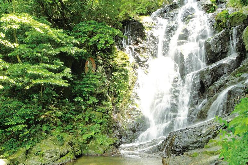 ⽷島市 ⽩⽷の滝