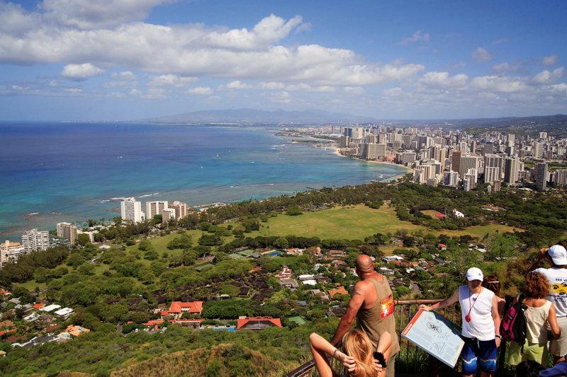 ハワイ「ダイヤモンドヘッド」360度パノラマビューの絶景を見に行こう!!